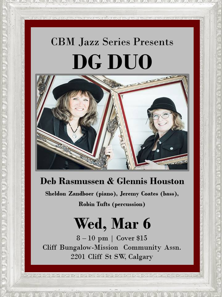 DG Duo at Cliff Bungalow Mar 2019 POSTER