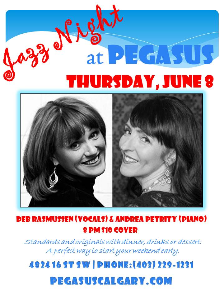 Deb and Andrea Pegasus Poster